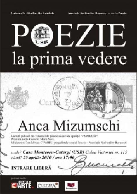 Poezie la Prima Vedere: Versourile Ancai Mizumschi