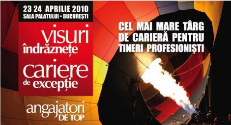 Angajatori de Top 2010 editia de primavara, in aprilie la Sala Palatului