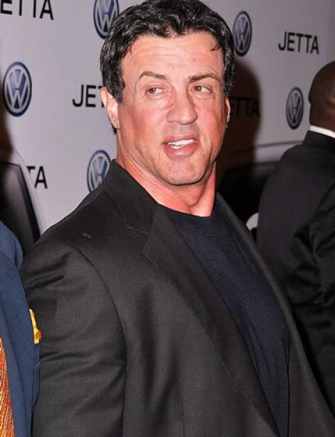 Sylvester Stallone nu mai poarta verigheta