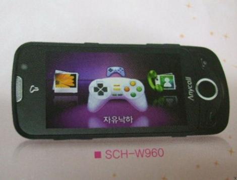 Mobilul 3D: Samsung W960