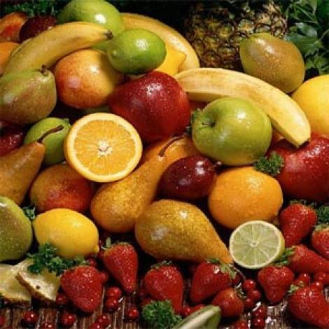 Fructele, surse de antioxidanti