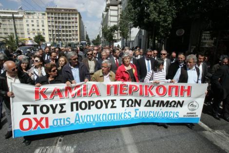 Grecia, paralizata de o noua greva generala: Transporturile blocate, scolile si bancile inchise