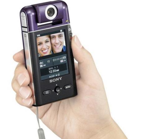 PM5K, camera Sony cu obiectiv pivotant