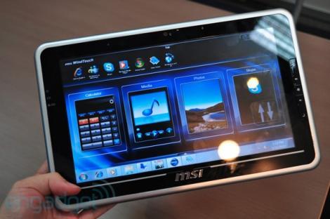 MSI WindPad 100, un nou rival pentru tableta  iPad