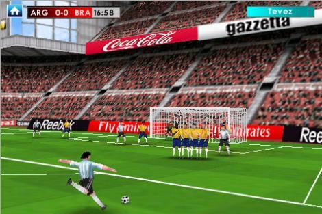 Trei jocuri de fotbal pentru iPad, iPhone si iPod Touch