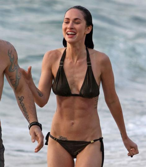 Megan Fox a slabit urat