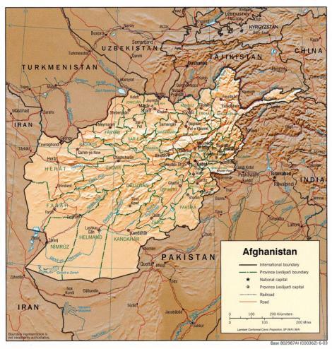 SUA au descoperit in Afganistan resurse minerale in valoare de un trilion de dolari