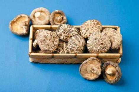 Ciupercile shiitake-tineretea vesnica din farfurie