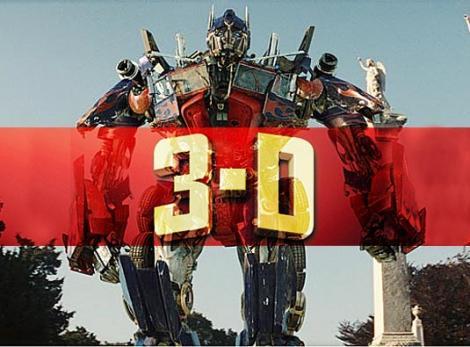Transformers 3 va fi lansat in varianta 3D!