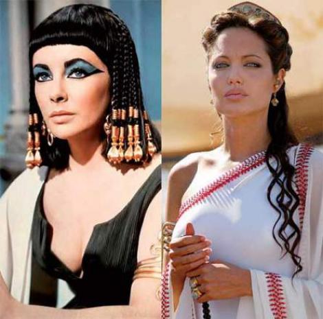 Femeile frumoase din rolul de Cleopatra
