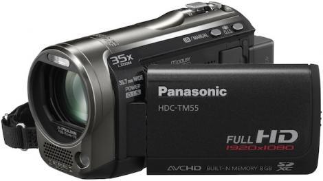 Zoom campion de la Panasonic HDC-TM55