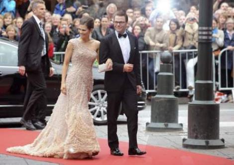 VIDEO/Nunta de basm in Suedia: Printesa Victoria s-a casatorit cu fostul ei instructor de fitness