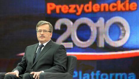 Alegerile prezidentiale in Polonia: Bronislaw Komorowski si Jaroslaw Kaczynski, in turul doi