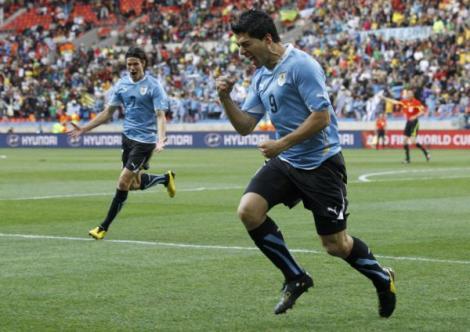 """VIDEO Uruguay - Coreea de Sud 2-1/ Sud-americanii merg in """"sferturi"""""""