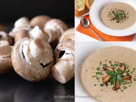 Invata sa prepari ciorba de ciuperci!