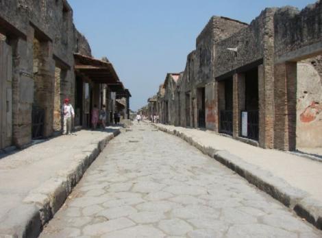Pompei, un oras de dincolo de istorie