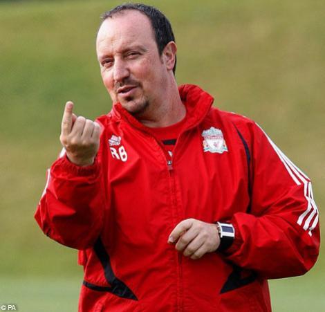 Rafael Benitez a fost demis de la Liverpool