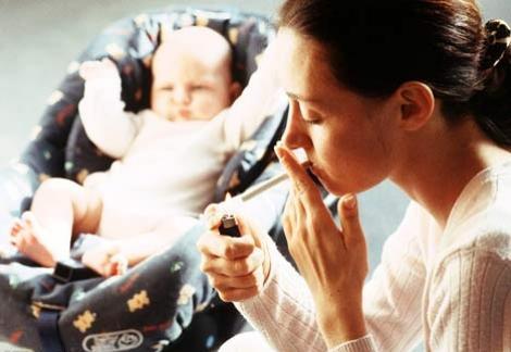 Fumatul pasiv creeaza dependenta pentru copii