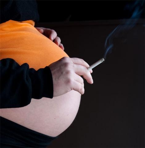 Lasa-te de fumat pentru sanatatea copilului tau