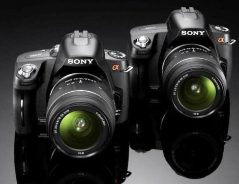 Sony anunta doua noi camere foto digitale: SLR - α390 si α290