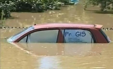 Inundatii devastatoare mai multe tari din Europa