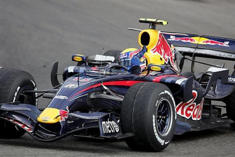MP al Marii Britanii/ Mark Webber, invingator la Silverstone
