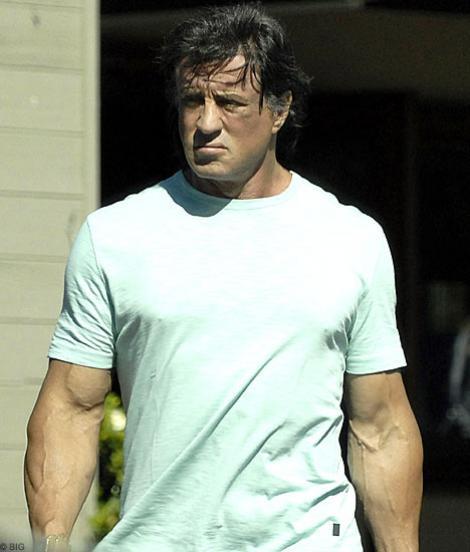 """Sylvester Stallone: """"Un film nu e reusit daca nu ma accidentez pe platou"""""""