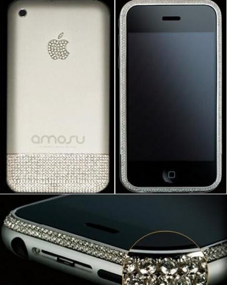 Diamantele, cele mai bune prietene ale...iPhone 4