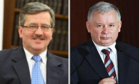 Polonezii isi aleg presedintele. Kaczynski si Komorowski, la egalitate in sondaje