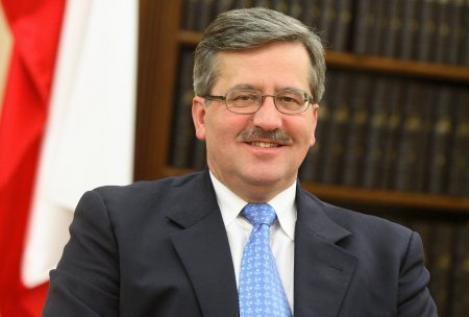 Bronislaw Komorowski a castigat alegerile prezidentiale din Polonia