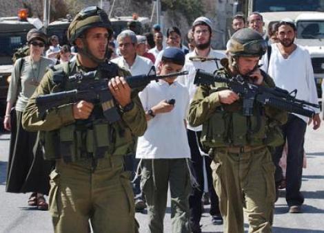 VIDEO! Soldatii israelieni au inventat patrularea in pas de dans!