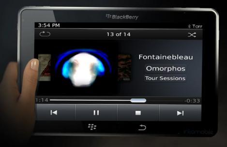 FOTO! BlackPad, tableta BlackBerry, posibila lansare in noiembrie