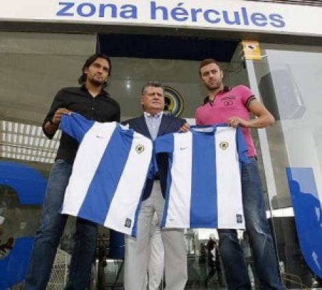 Cristi Pulhac a fost prezentat la Hercules