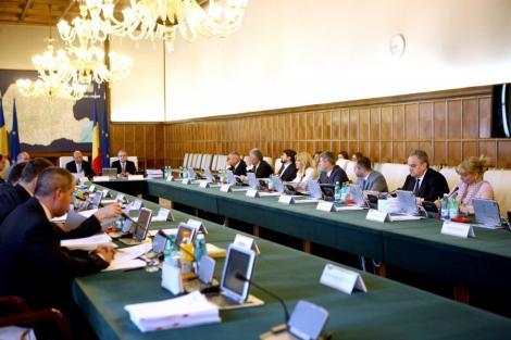Guvernul a aprobat prima rectificare bugetara