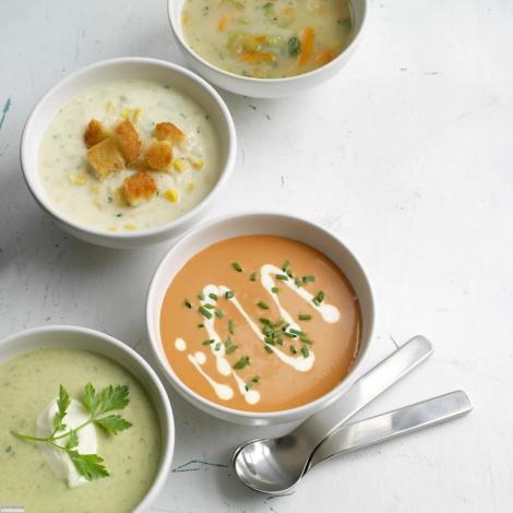 3 retete de supe racoritoare, de vara