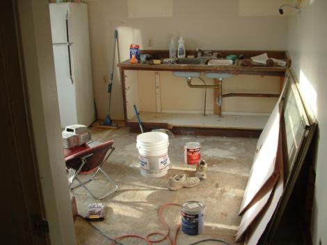 Renovarea casei: cum supravietuiesti fara bucatarie
