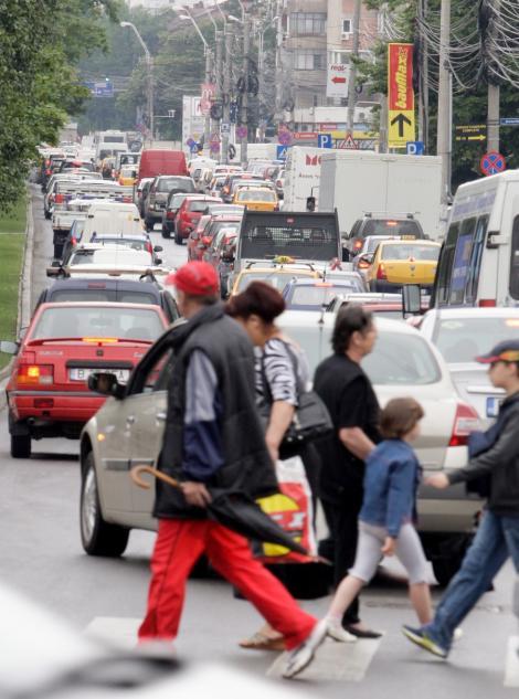 Inspectorii ANAF ar putea opri soferii in trafic