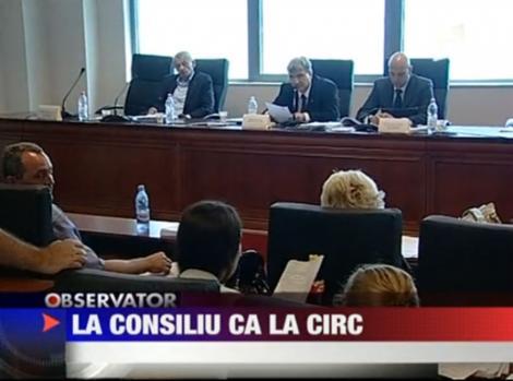 VIDEO! Circ la sedinta de consiliu a Bucurestiului
