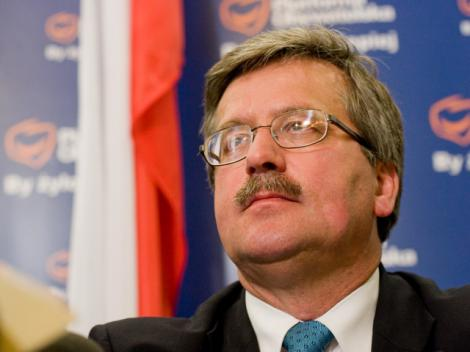 Komorowski a fost investit oficial ca presedinte al Poloniei