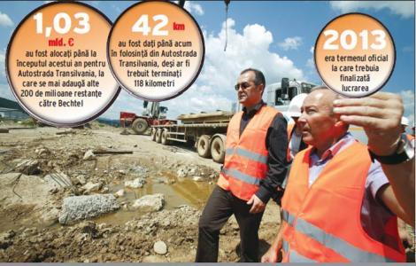 Boc anunta un nou termen pentru finalizarea Autostrazii Bechtel: 2044
