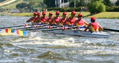 Romania a luat doua medalii de aur la europenele de canotaj