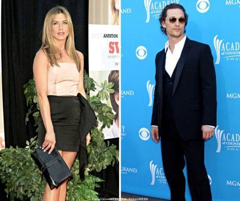 Jennifer Aniston si Matthew McConaughey, cei mai sexy de la Hollywood