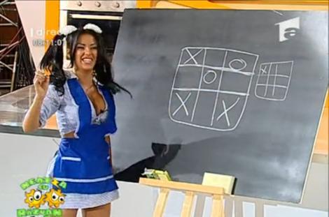 VIDEO! Daniela Crudu, in rol de scolarita la Neatza