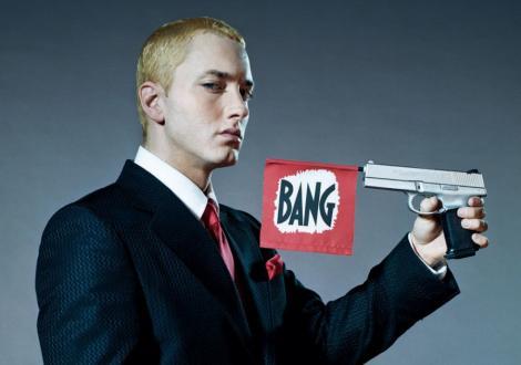 """Eminem: """"Am fost nevoit sa invat din nou cum se canta rap"""""""