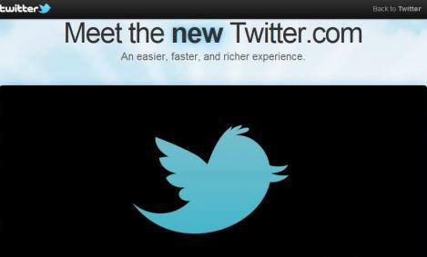 VIDEO! Un nou design pentru Twitter