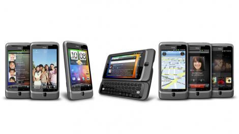 FOTO! Vezi colectia de toamna HTC: Desire HD si Desire Z!