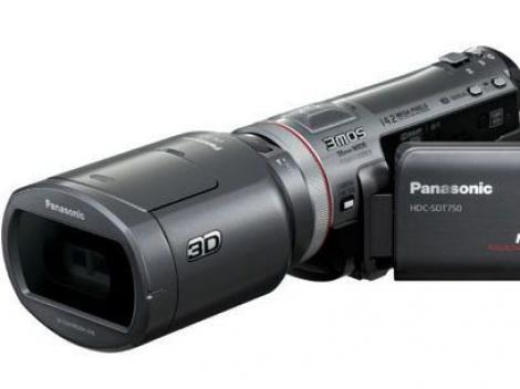 Camera video 3D de la Panasonic in Romania