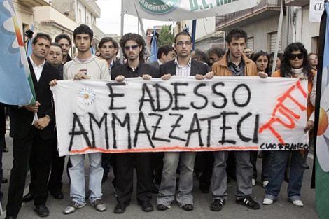 Italia: Demonstratie de amploare impotriva mafiei la Reggio Calabria