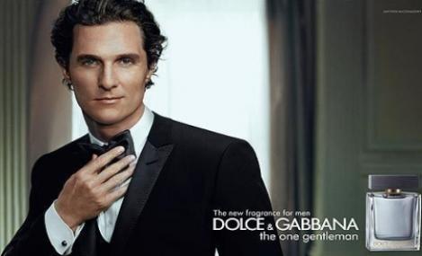 Matthew McConaughey s-a pensat pentru cea mai recenta reclama D&G