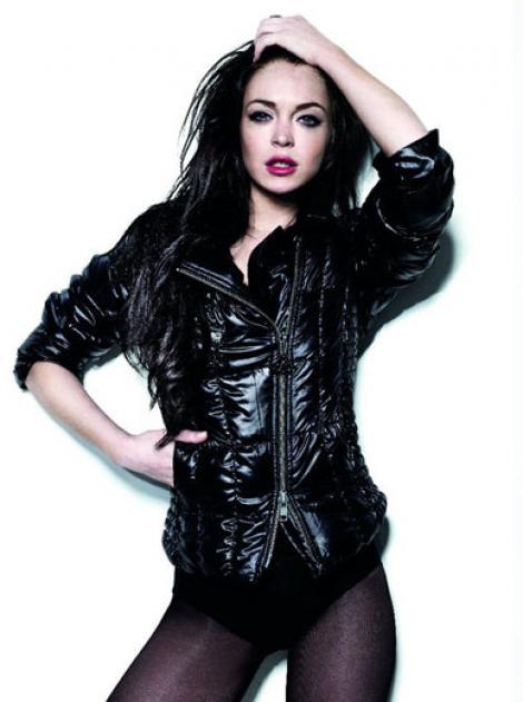 Lindsay Lohan prezinta colectia Fornarina